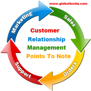 points to remember CRM